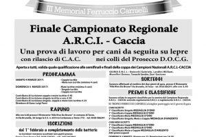 Finale Campionato Regionale Arcicaccia Veneto Per Cani Da Seguita Su Lepre