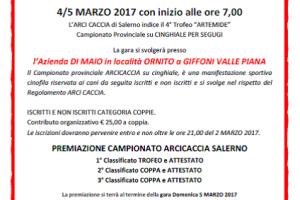 A Salerno Parte Il Trofeo Artemide