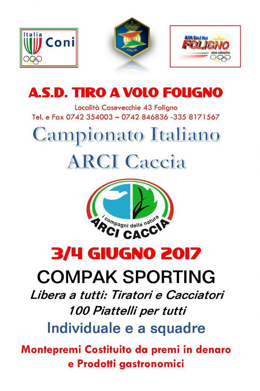 Il Campionato Italiano Arci Caccia Di Compak Sporting Si Allunga Di Un Giorno