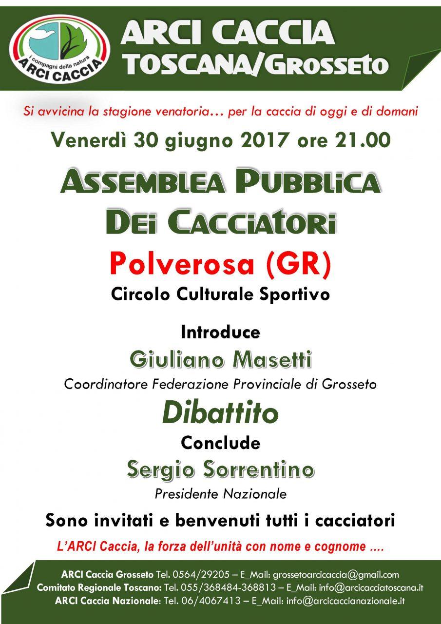 ASSEMBLEA PUBBLICA GROSSETO 30 6 2017