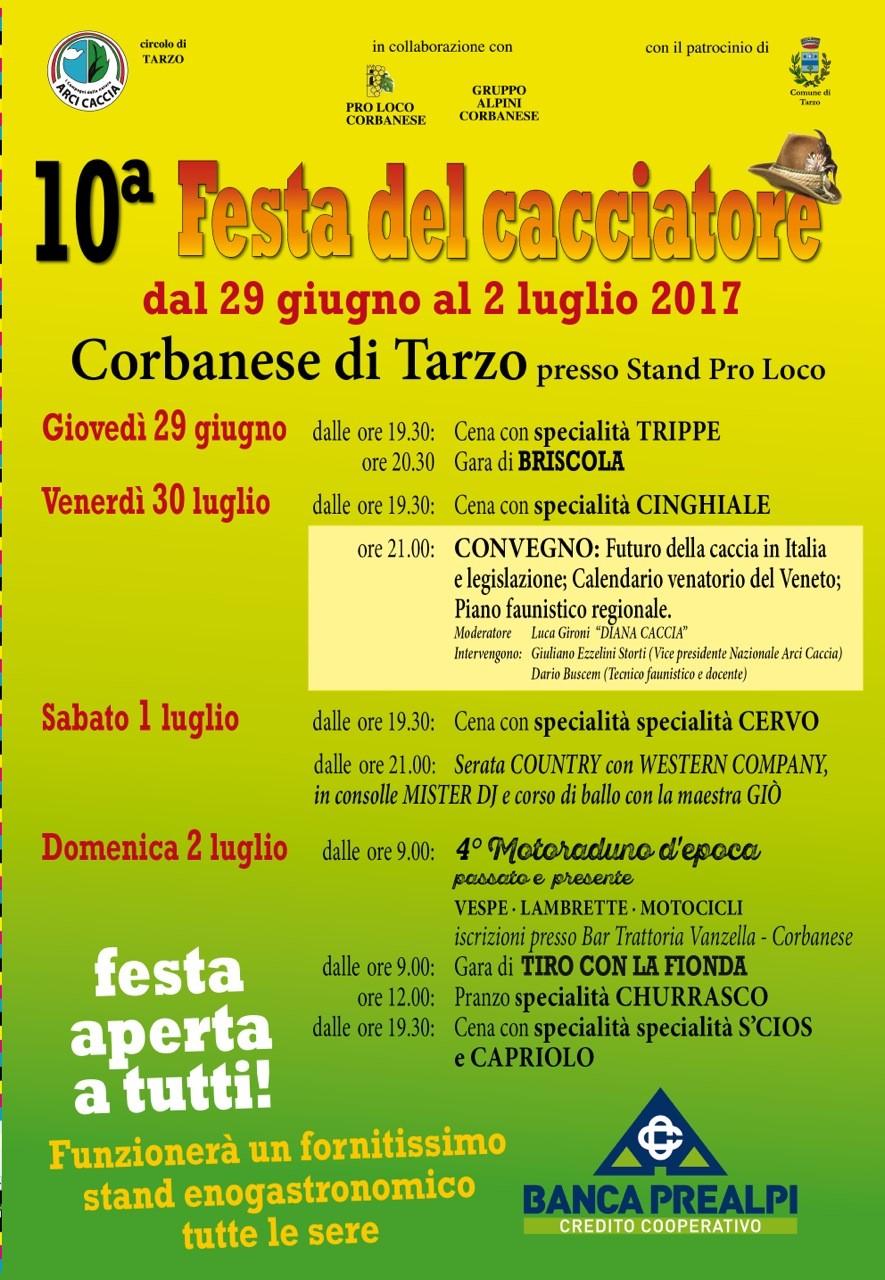 Festa Di Tarzo 2017