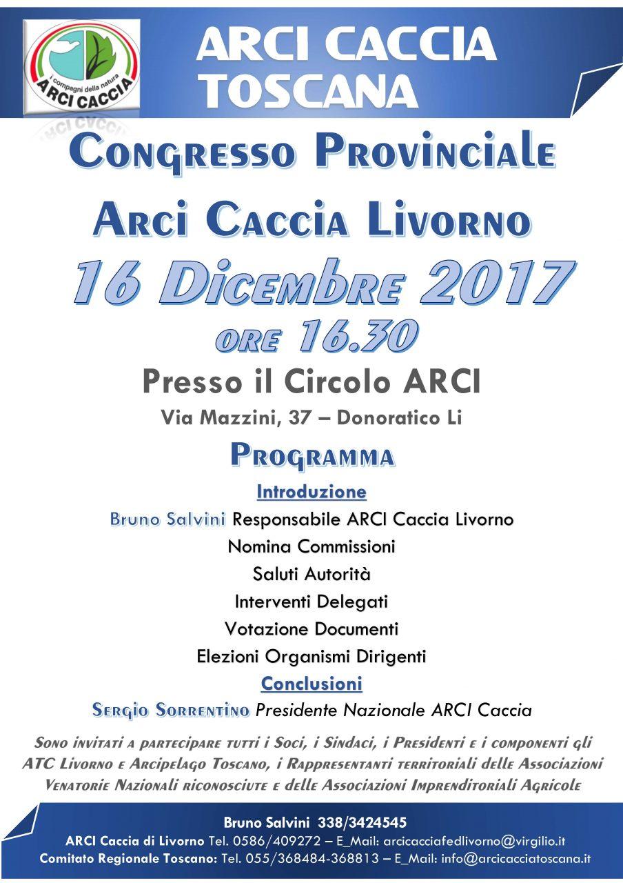 Congresso Provinciale LIVORNO 16 12 2017