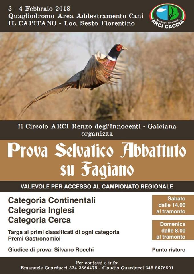 Trofeo Selvatico Abbattuto Prato