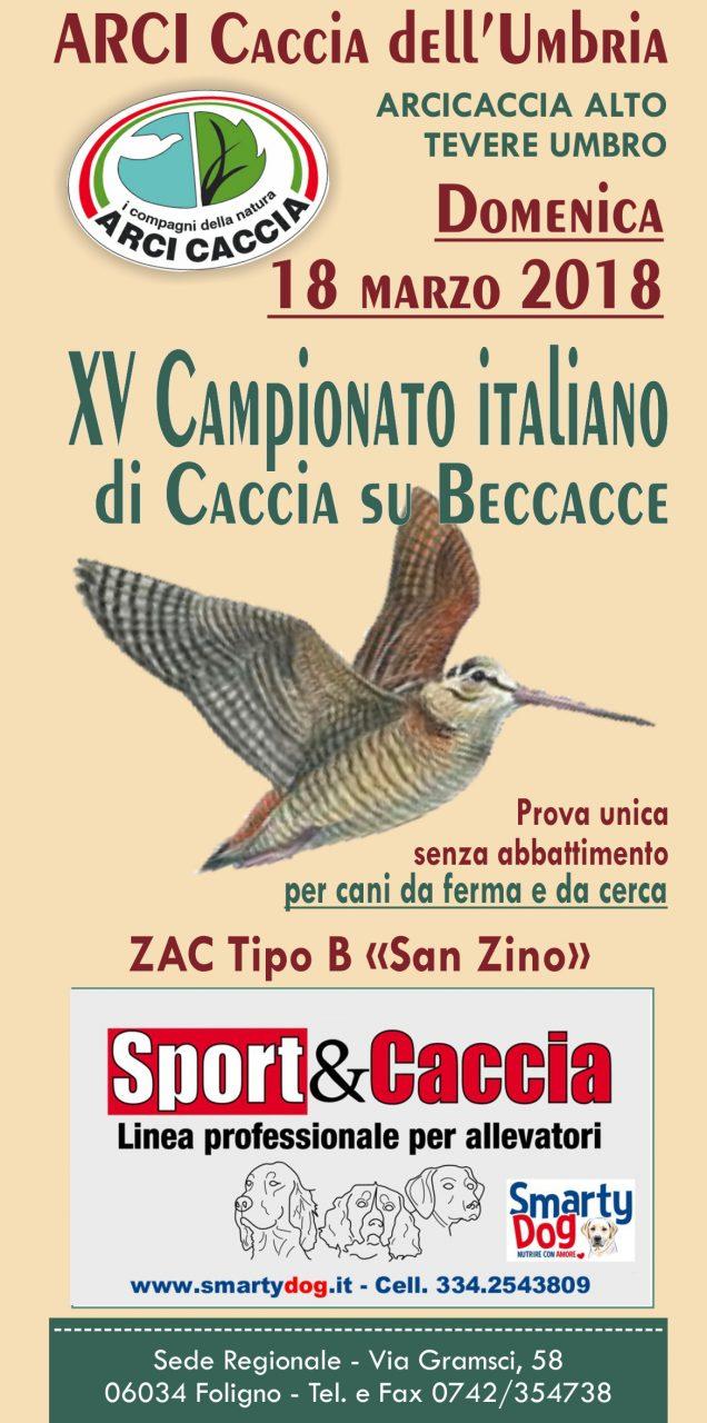 Domenica 18 Marzo XV Campionato Italiano Su Beccacce