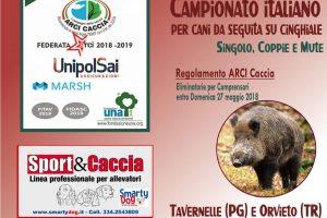 Campionato Italiano Per Cani Da Seguita Su Cinghiale