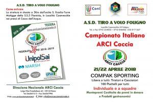 21/22 Aprile Campionato Italiano Compak Sporting Arci Caccia