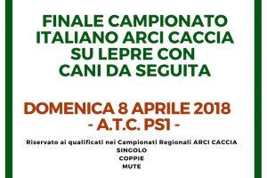 Domenica 8 Si Assegna Il Campionato Italiano Su Lepre