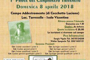 Domenica 8 Aprile Prova Attitudinale A Vicenza