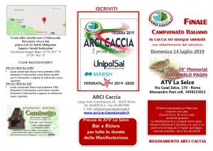 Calendario Venatorio Lazio 2020 2020.Lazio Campionato Italiano Di Caccia Su Quaglie Liberate