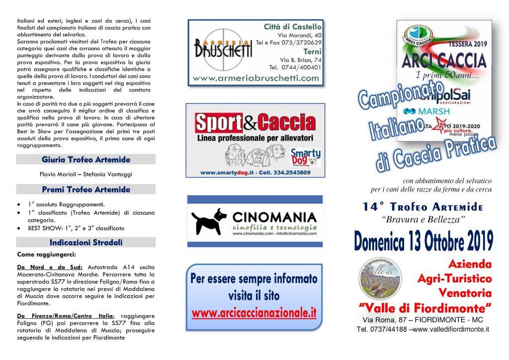 Calendario Venatorio 2020 Campania.Marche Domenica 13 Ottobre Si Svolgera La Finale Del